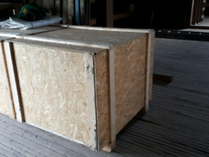 HEAT TREATED WOODEN SHIPPING CRATES