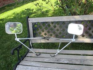 Miroir pour tente-roulotte,roulotte ou remorque/ Towing mirror