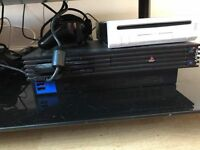 PlayStation 2 Console With 17 Games And 2 Mics