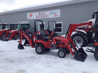 MASSEY FERGUSON 25hp TLB - $0 Down, 0 Payment, 0% Interest