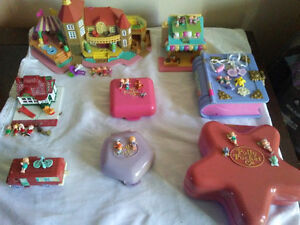 Polly pocket compact lot
