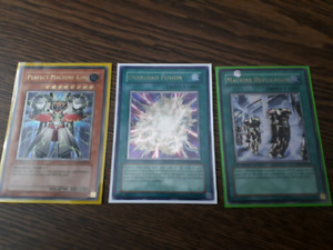 ULTR Yugioh Machine dup, perfect machine king, overload fusion
