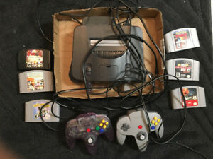 Nintendo 64 -Vintage Game & Game Pack