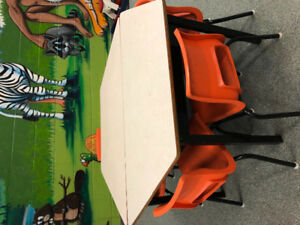 Tables and chairs! Free! Need gone today!