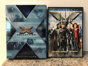 X-Men, X2 and X3 The Last Stand DVDs