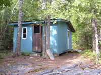 Manitoulin Island hunting Lot with small camp.