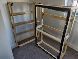 Divan bed frames / wood