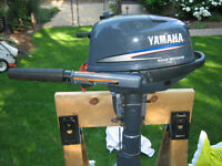 New Yamaha 4 Hp  4 stroke