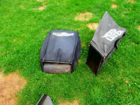 lawnmower bag $15 1 bag is for yard works and 1 bag is for weed