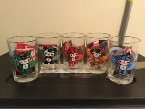 2008 Beijing Olympics Collectible Glasses