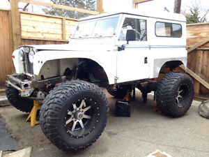 1962 Land Rover project