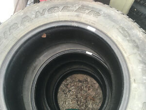 Goodyear sra 265-70-18 like new