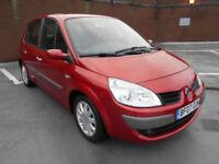 (07) 2007 Renault Scenic 1.6 VVT Dynamique Service History 1 YEARS MOT