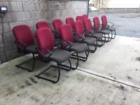Heavy duty reception chairs