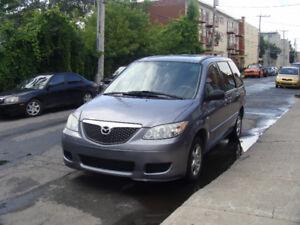 2005 Mazda MPV Fourgonnette 7 Passagers