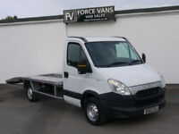 19f324b588 62 IVECO DAILY AUTO 2.3 TD 35S11 LWB RECOVERY TRANSPORTER BREAK DOWN TRUCK  VAN