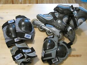 K2 Model Cirrus W Rollerblades with K2 Protection Set