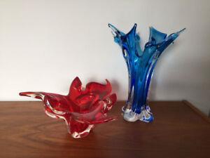 Verre Soufflé ** Vintage Chalet / Lorraine ** Blown Glass