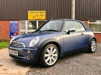 Mini Mini 1.6 Cooper Convertible 74,760 Miles In Blue