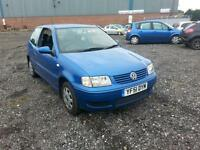 Volkswagen Polo 1.4 Match 3 DOOR - 2001 51-REG - JUST OUT OF MOT