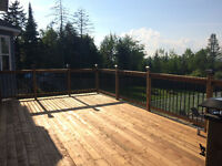 Decks, fences and siding