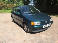 VW Polo 1.6cl, spares or repairs, 12 months mot