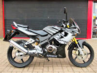 SUPERBYKE RBP 125 SPORTS 2006 ONE OWNER ONLY 510KM FROM NEW HPI WARRANTY