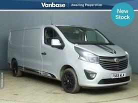 2018 Vauxhall Vivaro 2900 1.6CDTi BiTurbo 125PS H1 Ltd Edition Nav Van PANEL VAN