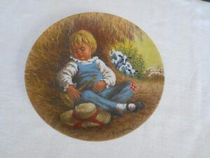 Collector Plate Little Blue Boy
