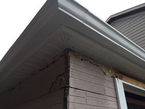 Eaves trough cleaning by Aok London Ontario image 4