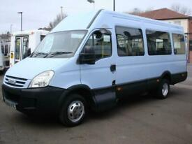 IVECO DAILY 17 SEAT FRONT ENTRY WHEELCHAIR ACCESSIBLE MINIBUS NO VAT LOW MILEAGE