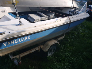 Vanguard boat with 70hp
