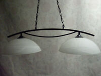 Gorgeous Oil-Rubbed Bronze 2-Light Pendant – LIKE NEW!!