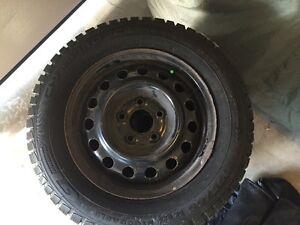195 65 R15  Gt Radial Champiro Icepro XL Tires & Steel Rims