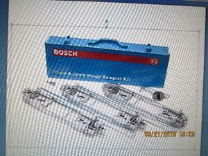 Bosch 83038 Deluxe Hinge Template  Kit – Door and Jamb Butt
