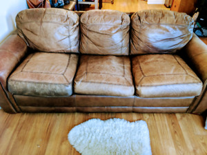 La-Z-Boy Leather Couch