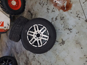 """18"""" aftermarket rims and tires"""
