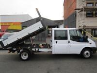 Ford Transit 2.2TDCi LWB Tipper 125PS EU5 RWD 350EF 6 seat Double Cab (52)