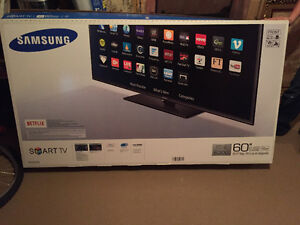 60 inch Samsung Smart TV.  Amazing TV box too! Looking for 1k or