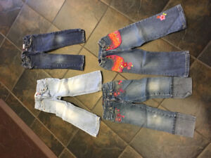 4T girl jeans