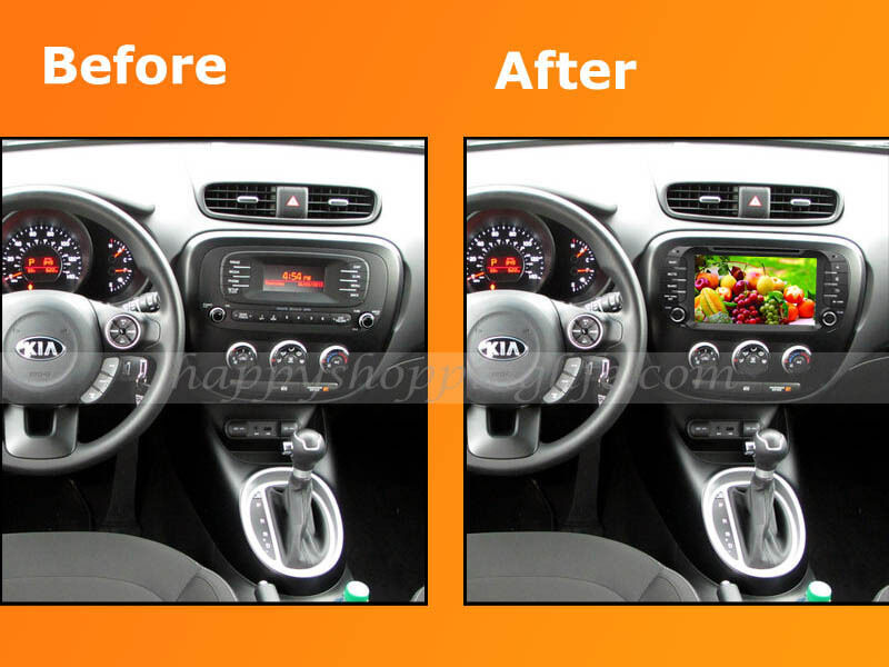 android car dvd player autoradio gps navigation wifi 3g for kia soul 2014 2015 ebay. Black Bedroom Furniture Sets. Home Design Ideas