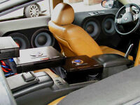 CAR AUDIO INSTALLATION $20- AMP & SUB FROM $40