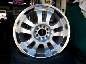 4 aluminum universal wheels
