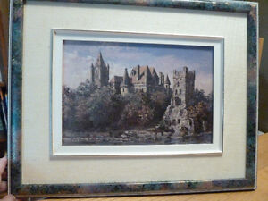 Framed Keirstead Print Boldt Castle