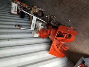 Two snowblowers for $250.00