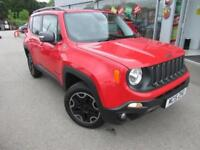 2015 Jeep Renegade 2.0 MultiJet Trailhawk Auto 4WD 5dr Diesel red Automatic