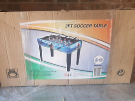 Soccer Table (3FT) + a moveable study desk for free
