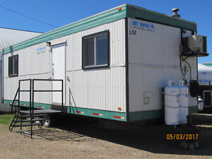 10x32 Wheeled Office Trailer For Rent