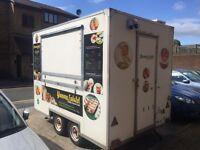 Food trailer/ fried falafel