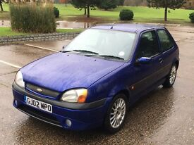 2002 Fiesta Zetec S 1.6 Drives well £425